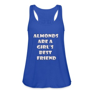 Almonds - Women's Flowy Tank Top by Bella