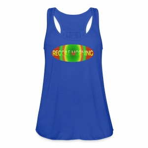 Reggae Morning Spiral - Women's Flowy Tank Top by Bella