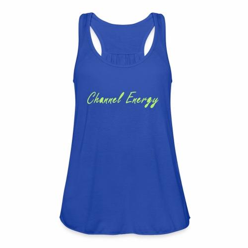 Simply Channel Energy - Women's Flowy Tank Top by Bella