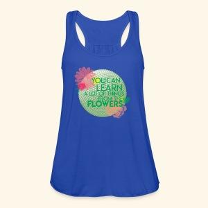 flowerandgarden - Women's Flowy Tank Top by Bella