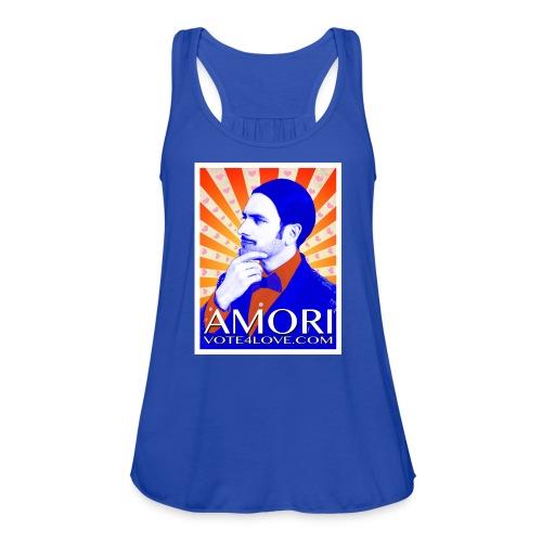 Amori_poster_1d - Women's Flowy Tank Top by Bella
