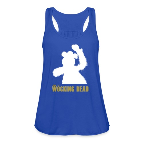Wocking Dead Shirt - Women's Flowy Tank Top by Bella