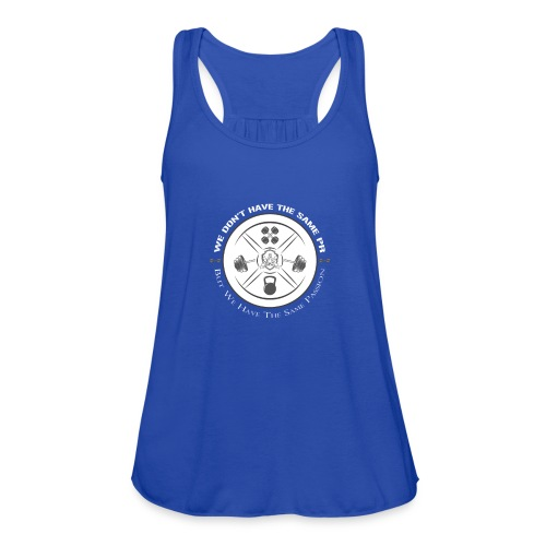 The same Passion blanc - Women's Flowy Tank Top by Bella
