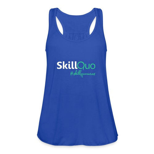 #skillquocares - Women's Flowy Tank Top by Bella