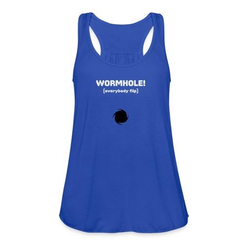 Spaceteam Wormhole! - Women's Flowy Tank Top by Bella
