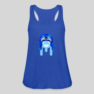 ALIENS WITH WIGS - #TeamMu - Women's Flowy Tank Top by Bella