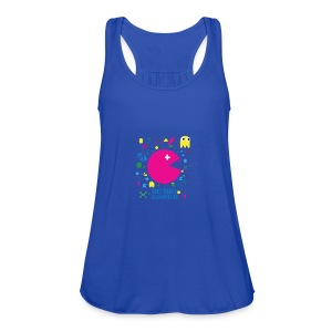 RETRO GAMER - Women's Flowy Tank Top by Bella