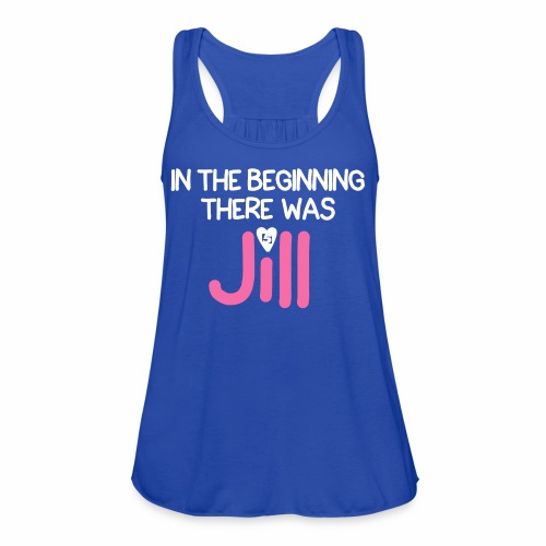 Women's In the beginning there was House Shirt - Women's Flowy Tank Top by Bella