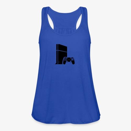 Logo PS4 - Women's Flowy Tank Top by Bella