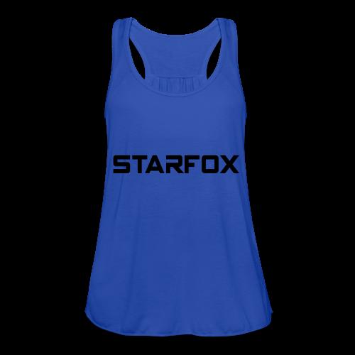 STARFOX Text - Women's Flowy Tank Top by Bella