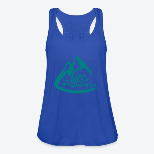 Say Yes to Adventure - Coloured - Women's Flowy Tank Top by Bella
