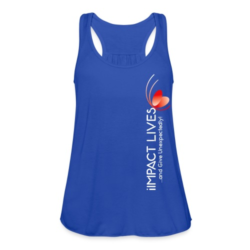 iImpact Lives and Give Unexpectedly! - Women's Flowy Tank Top by Bella