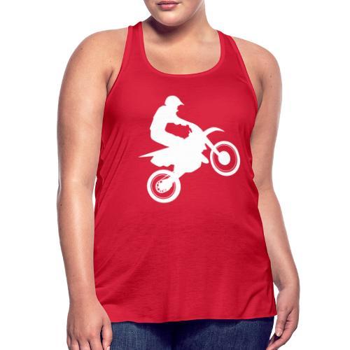 Motocross - Women's Flowy Tank Top by Bella