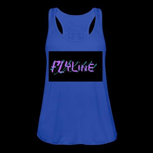 Flyline fun style - Women's Flowy Tank Top by Bella