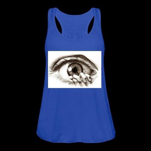 eye breaker - Women's Flowy Tank Top by Bella