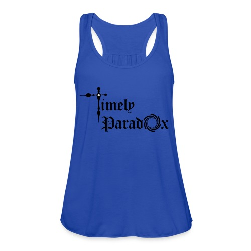 Timely Paradox - Women's Flowy Tank Top by Bella