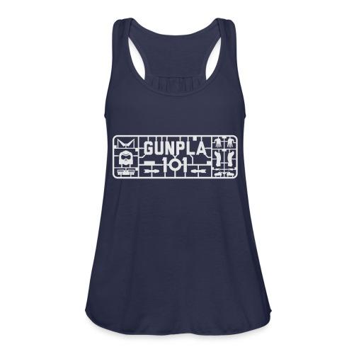 Gunpla 101 Men's T-shirt — Zeta Blue - Women's Flowy Tank Top by Bella