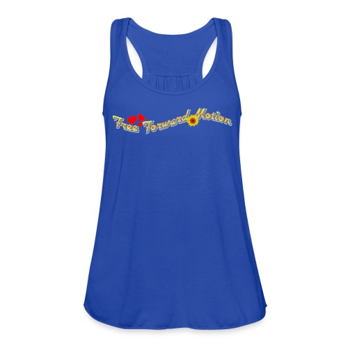 Free Forward Motion - Women's Flowy Tank Top by Bella