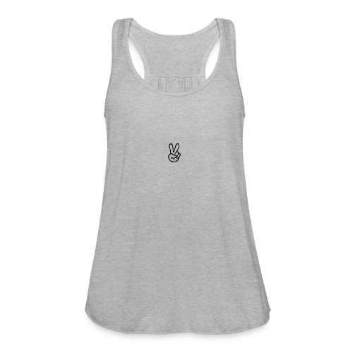 Peace J - Women's Flowy Tank Top by Bella