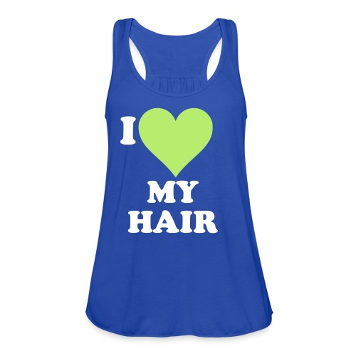 I love my hair - Women's Flowy Tank Top by Bella