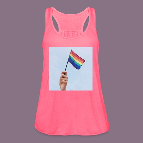 lgbt - Women's Flowy Tank Top by Bella