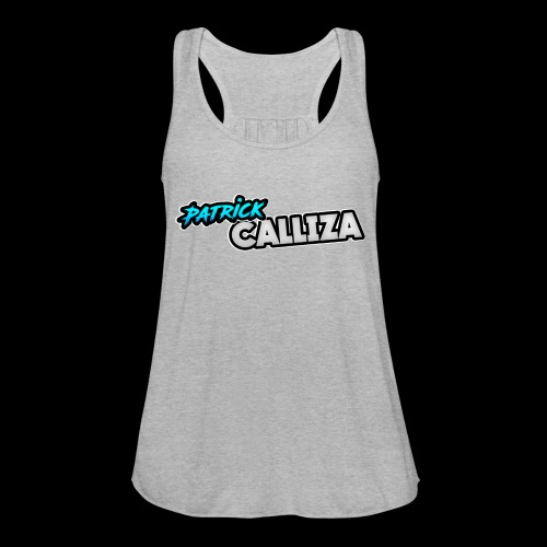 Patrick Calliza Official Logo - Women's Flowy Tank Top by Bella
