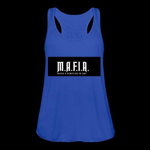 Classic Mafia Logo Black - Women's Flowy Tank Top by Bella