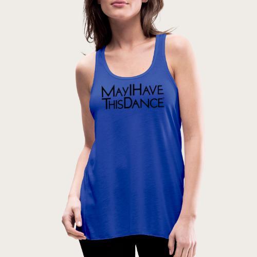 MAYI shirt logo black - Women's Flowy Tank Top by Bella