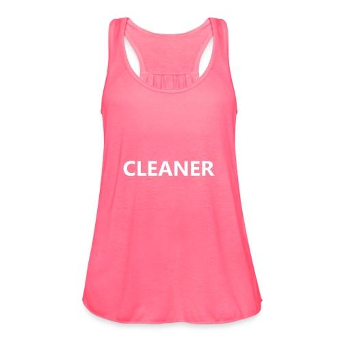 Cleaner - Women's Flowy Tank Top by Bella