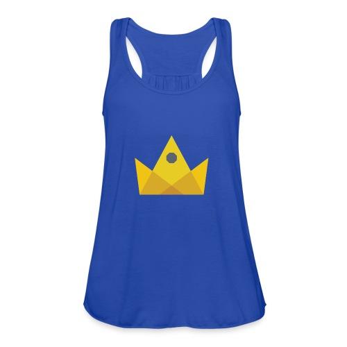 I am the KING - Women's Flowy Tank Top by Bella