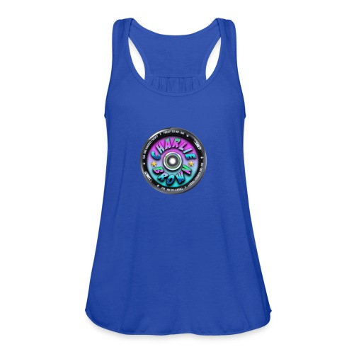 Charlie Brown Logo - Women's Flowy Tank Top by Bella