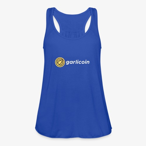 Garlicoin - Women's Flowy Tank Top by Bella
