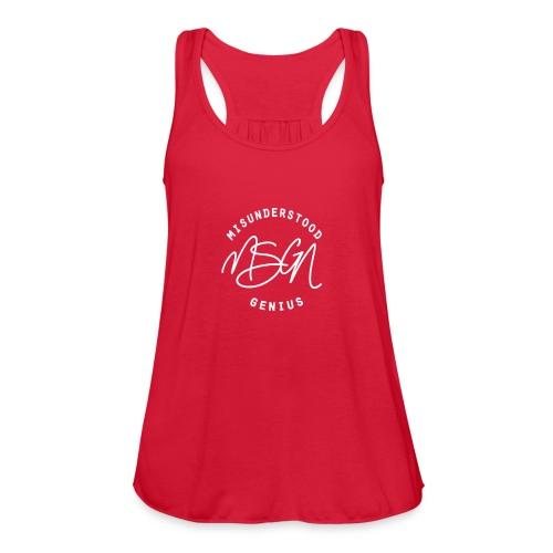 MSGN Logo - Women's Flowy Tank Top by Bella