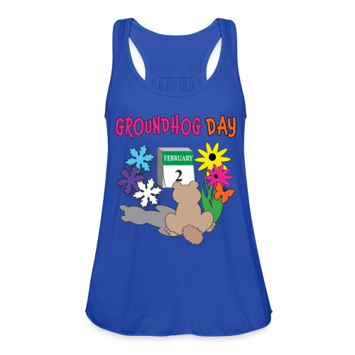 Groundhog Day Dilemma - Women's Flowy Tank Top by Bella
