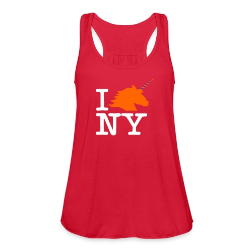 I Unicorn New York (Kristaps Porzingis) - Women's Flowy Tank Top by Bella