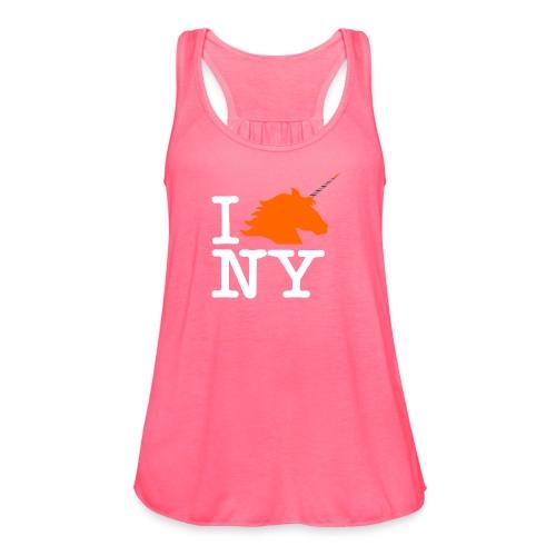 I Unicorn New York (Kristaps Porzingis) - Women's Flowy Tank Top by Bella