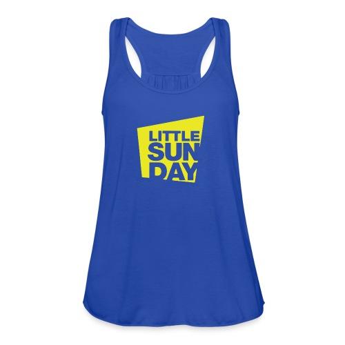 littleSUNDAY Official Logo - Women's Flowy Tank Top by Bella