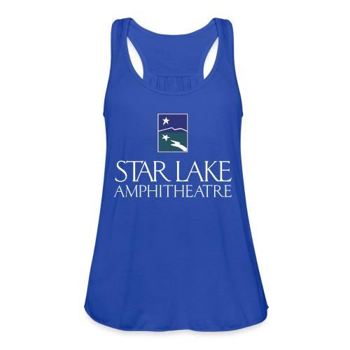 Star Lake on Color - Women's Flowy Tank Top by Bella