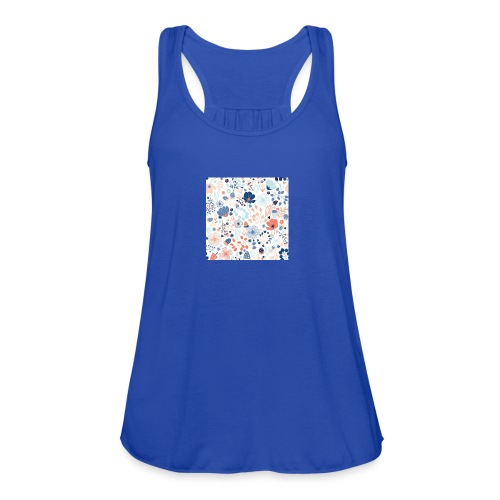 flowers - Women's Flowy Tank Top by Bella