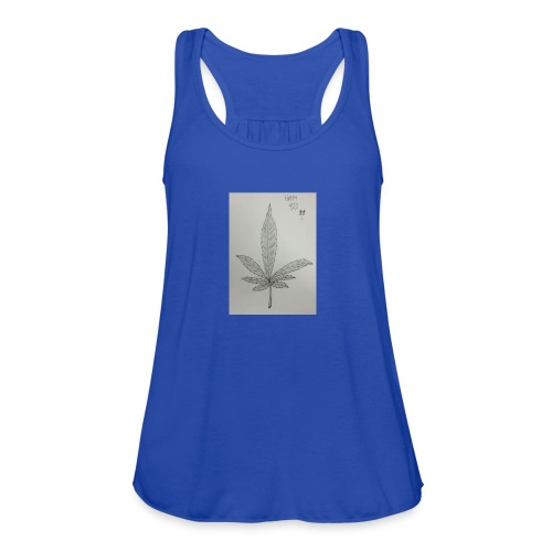 Happy 420 - Women's Flowy Tank Top by Bella