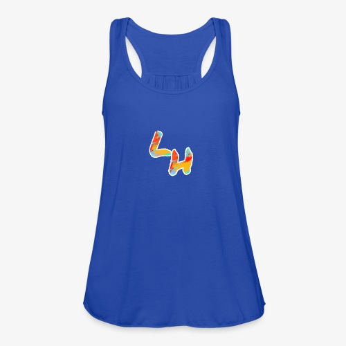 Los Hermanos Logo - Women's Flowy Tank Top by Bella