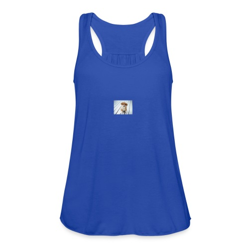 for my you tube channel - Women's Flowy Tank Top by Bella