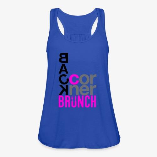 #BackCornerBrunch Summer Drop - Women's Flowy Tank Top by Bella