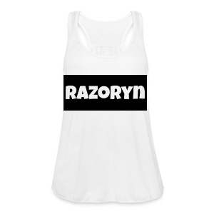 Razoryn Plain Shirt - Women's Flowy Tank Top by Bella