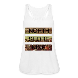 North Shore Nine Stadium Pic - Women's Flowy Tank Top by Bella