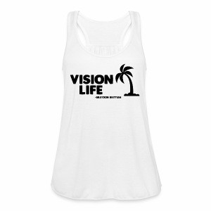 Vision Life Limited Edition Summer Tee - Women's Flowy Tank Top by Bella