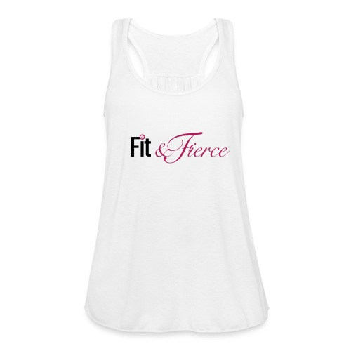 Fit Fierce - Women's Flowy Tank Top by Bella