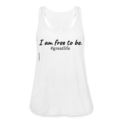 Free to Be Movement (upgrade) - Women's Flowy Tank Top by Bella