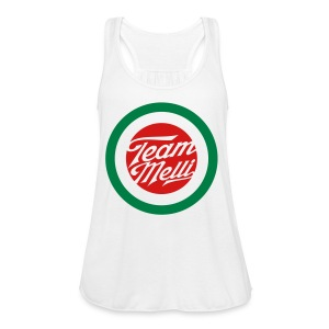 TEAM MELLI RETRO BADGE - Women's Flowy Tank Top by Bella