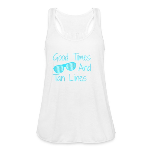 Good Times tank - Women's Flowy Tank Top by Bella